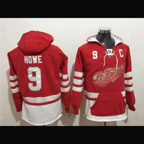 17ada177f4c Shop and Save more than 50% at The Jersey Barn! New High Quality Detroit  Red Wings NHL Hockey Team Apparel Hoodies. Fast order processing and Free  Shipping!