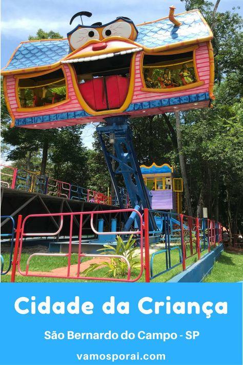 Cidade Da Crianca O 1º Parque Tematico Do Brasil Cidade Da