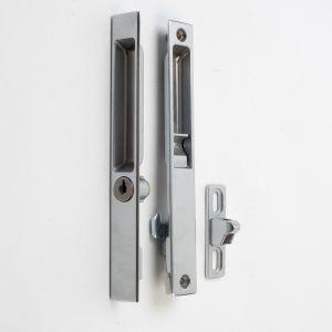 Sliding Glass Door Lock Handle With External Key Cylinder Sliding Glass Doors Patio Door Handles Door Locks