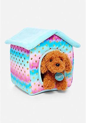 Pet Shop Ombre Foil Dot Plush House Quantity 2 Pet Shop Healthy