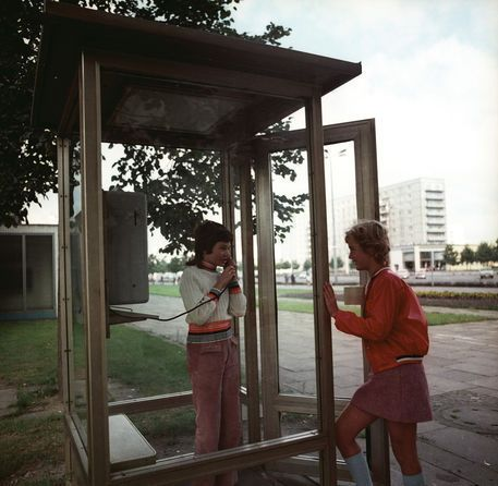 Phone Booth In Potsdam 21 09 1972 With Images West Berlin