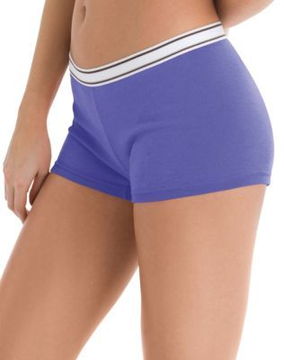 083261e43 Jockey Modern Seamfree Boyshorts 2046 - Women's, Size: 7, Light Blue ...