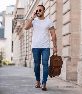 Ted Baker Camroon Leather Chelsea Boot 265 Asos Lookastic Com In 2020 Brown Chelsea Boots Outfit Brown Leather Chelsea Boots Chelsea Boots Men Outfit