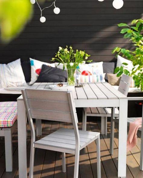 Arredo Giardino Terrazzo Ikea.Arredare Il Terrazzo Idee Arredo Casa Arredamento Giardino