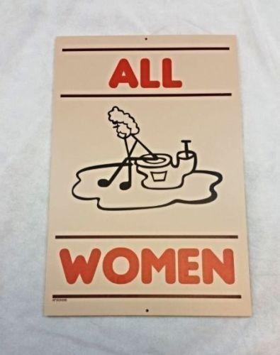 "Bathroom Signs Restaurant hooters restaurant mens restroom bathroom sign ""most men"" 18x12"