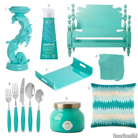 Color Obsession of the Week: Turquoise