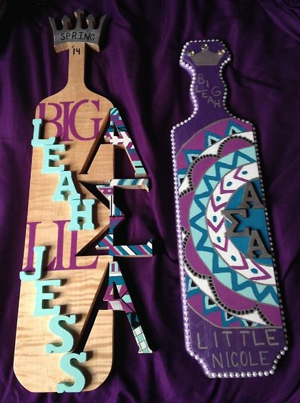 Pretty In Purple! Submitted By: Skeletisms | Sorority Sugar | Paddles. |  Pinterest | Sorority Sugar, Sorority And Sugaring
