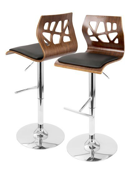 Excellent Folia Barstool By Lumisource At Gilt Bar Stools Bar Caraccident5 Cool Chair Designs And Ideas Caraccident5Info