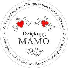 Darmowe digi stemple dla mamy na okrągło (With images) | Digi ...