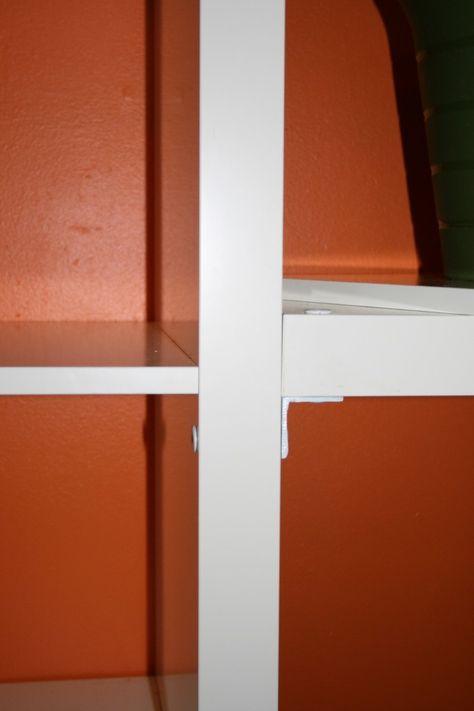 Attachment Of Shelf And Desk To Bookcases Custom Bookshelves
