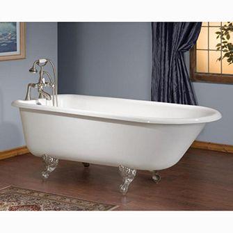 Recor Cheviot Freestanding Bathtub Traditional 54 Cast Iron Soaking Bathtubs Clawfoot Bathtub Cast Iron Bathtub