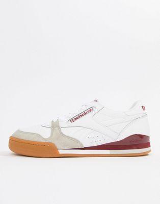 Reebok Phase 1 Pro Cv Sneakers In White Cm9287 Sneakers Reebok Puma Fierce Sneaker
