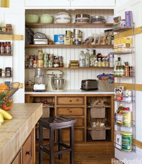25 Creative Kitchen Pantry Ideas Unique Kitchen Home Kitchens