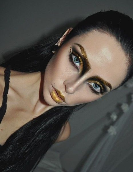 Edgy Beauty Looks Inspired By 'The Hunger Games'   Capitol Couture
