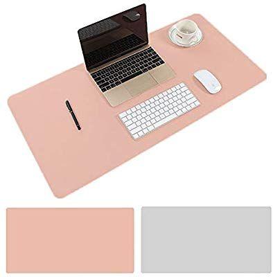 Amazon Com Aisakoc Large Desk Pad 31 5 X 15 75 Non Slip Pu Leather Desk Mouse Pad Waterproof Desk Pad Protector D Leather Mouse Pad Desk Pad Leather Desk