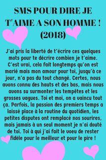 Sms Damour Pour Dire Je Taime à Un Homme 2019 Sms Amour