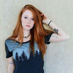 woman @feeeeruiz #redhead #redhair...