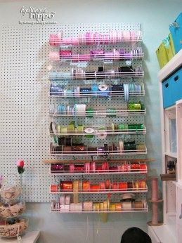 A Tour Of My Scraproom In 2020 Peg Board Peg Board Walls Ribbon Storage