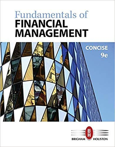 Fundamentals Of Financial Management 9th Edition Isbn 13 978 1305635937 Financial Management Cengage Learning Financial