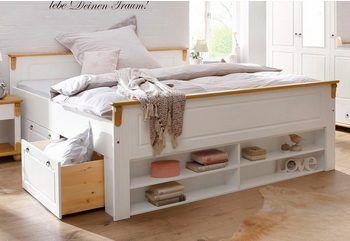 Home Affaire Massivholzbett Madrid Bett Im Landhaus Stil Online Kaufen Home Decor Bedroom With Bath Furniture