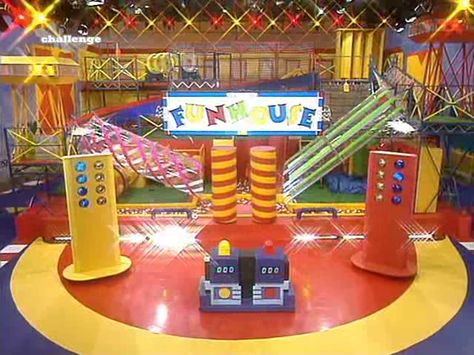 """Fun House with Pat Sharp """"FunHouse whole lotta fun, prizes to be won,  it's a real crazy show Where anything can go. .."""""""