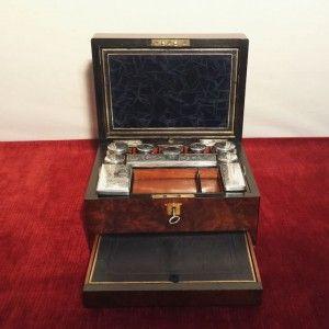 Reiseschatulle Antik Antique Baresfurrares Reiseset Travelset Die