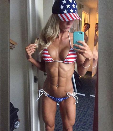 Rachel Scheer Showing Off Her Freedom