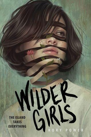 Wilder Girls By Rory Power Desain Grafis Ilustrasi Sampul Buku