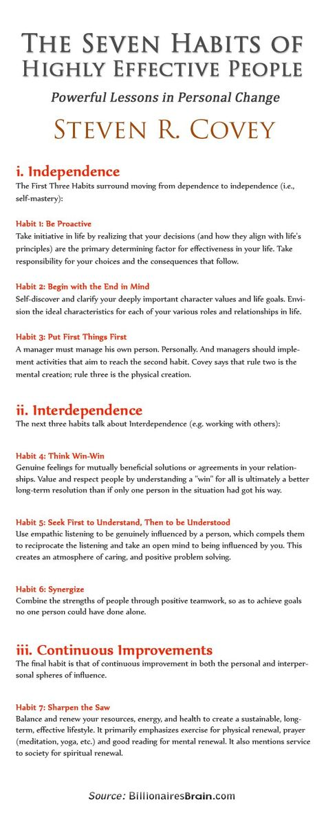 an analysis of the seven habits of highly effective people by stephen covey Read this literature essay and over 88,000 other research documents the seven habits of highly effective people the seven habits an overview in 1989, stephen covey&aposs book the 7 habits of highly effective people started a landmark.