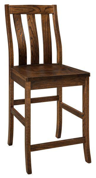 Salem Stationary Bar Chair Chair Metal Chairs Bar Chairs