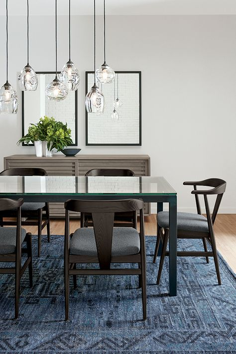 Mix and match your dining table and chairs to create the perfect set.