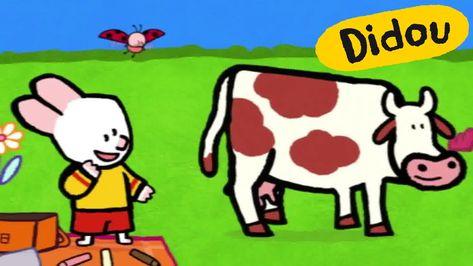 Vache - Didou, dessine-moi une vache |Dessins animés pour les ...