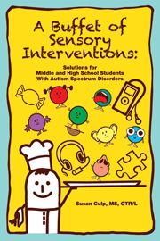 This book offers a smorgasbord of sensory-based interventions for use by educators, occupational therapists and parents. This practical and well-researched tool is unique by focusing on middle and high school students, whose sensory needs are often overlooked.