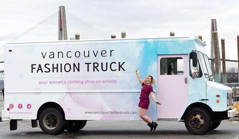 Truckin Mama Fashion Truck Vancouver Fashion Shopping Womens Clothing