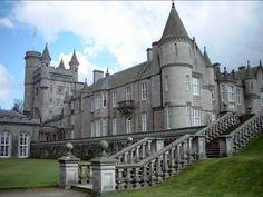 The Queen of England's Balmoral Castle