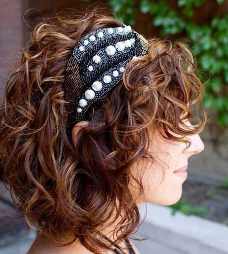 Short Cuts for Curly Hair   2013 Short Haircut for Women
