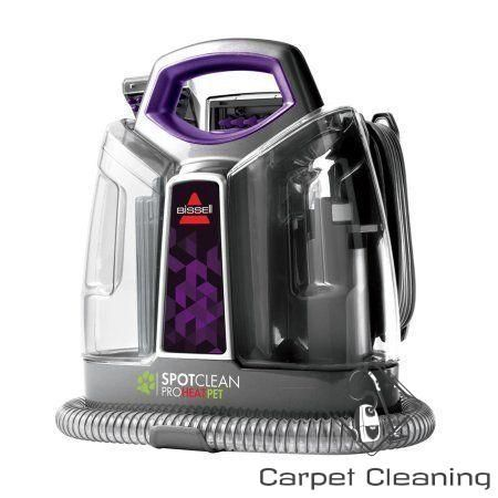 Bissell Spotclean Proheat Pet Portable Carpet Cleaner 2513w