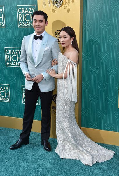 "Constance Wu Photos - Henry Golding and Constance Wu attend the premiere of Warner Bros. Pictures' ""Crazy Rich Asiaans"" at TCL Chinese Theatre IMAX on August 7, 2018 in Hollywood, California. - Warner Bros. Pictures' ""Crazy Rich Asians"" Premiere - Arrivals"