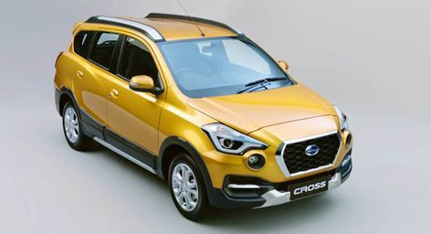 New Datsun Cross Suv Launches In Indonesia Displays Its Main Features Carscoops Datsun Product Launch Indonesia