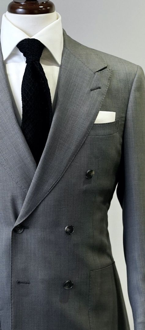 Grey Nailhead Suit