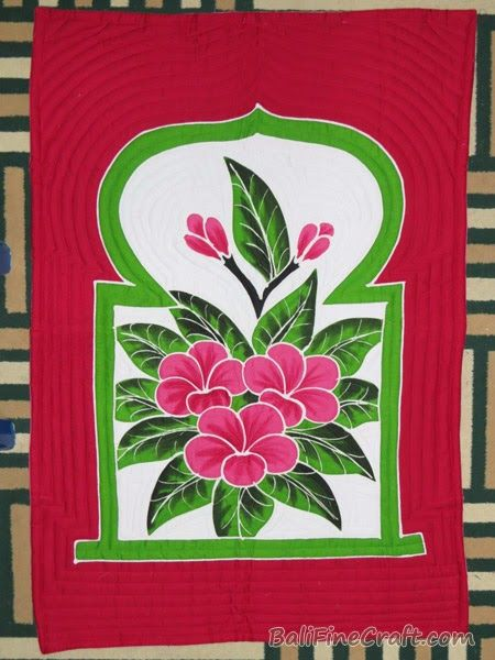 Gambar Batik Motif Bunga Kamboja Sajadah Lukis Bali Sajadah Lukis Bali Kamboja 71 Download Lukisan Hiasan Dinding Bunga Kamboj Di 2020 Bunga Gambar Lukisan Bunga