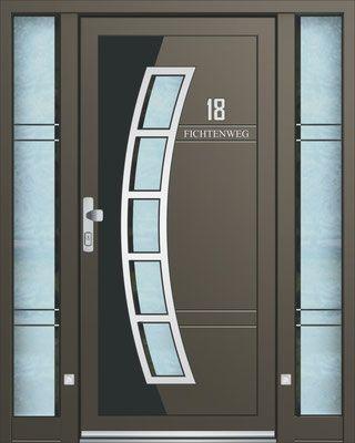 Alu Hausturen Peter Kraml Fenster Und Hausturen En 2020 Casas De Lujo Puertas Principales Puertas