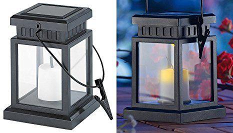 Lunartec Solar Kerze Solar Led Laterne In Asiatischem Design Zum Aufhangen Mit Akku Solar Deko Laternen Solarl Led Laterne Solarleuchten Diy Beleuchtung
