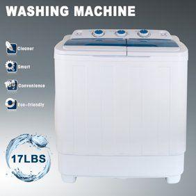 Pyle Compact Portable Washer Dryer Mini Washing Machine And