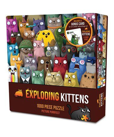 Another Great Find On Zulily Exploding Kittens Picture Purrfect