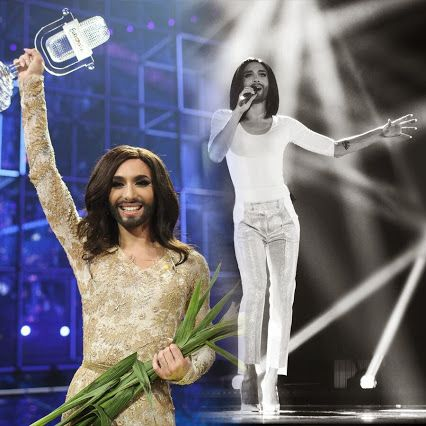 #Eurovision #SongContest 2015: #Conchita proved that the contest also creates major international stars. #eurovision #goldmedal https://www.muenzeoesterreich.at/eng/produkte/life-ball-medal-2015