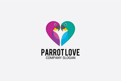 Parrot Love Logo