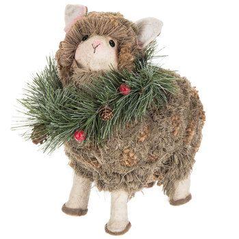 Textured Sheep Wearing Wreath Hobby Lobby 5353917 Hobby Lobby Christmas Christmas Holidays Fun Party Supplies