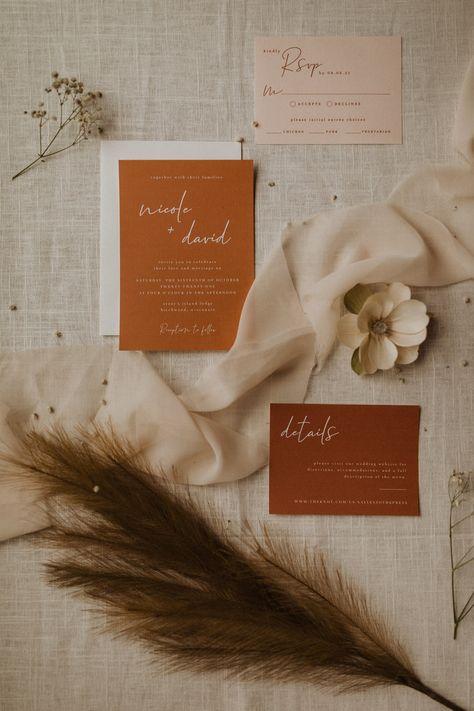 Wedding Invitation Suite, Wedding Stationary, Vintage Wedding Invitations, Wedding Programs, Invitation Design, Modern Wedding Stationery, Wedding Invitation Inspiration, Invitation Cards, Invites