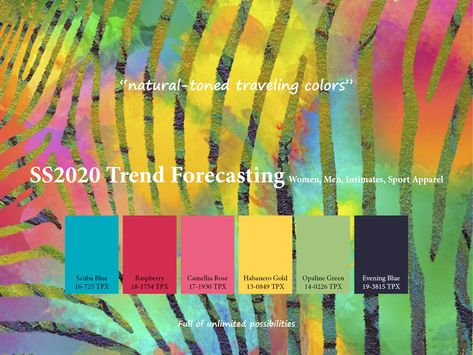 SS2020 Trend Forecasting - natural-toned traveling colors www.JudithNg.com
